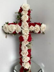 WHITE ROSE CROSS
